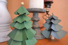 DIY Paper Tree Centerpieces : Factory Direct Craft Blog