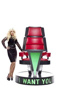 Coach Xtina is pulling out all stops to find THE VOICE this season. See who she fights for on February 5th #TheVoice #TeamXtina
