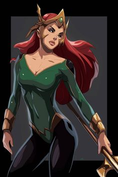 Mera Queen by on DeviantArt Power Girl Dc, Dc Comics, Princess Drawings, Nerd Love, Dc Characters, Cultura Pop, Female Images, Comic Character, Catwoman