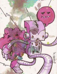 "Cool robot by Chris ""Devi"" Gliebe."