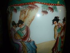 Pair of Chinese vases by Ectletically on Etsy