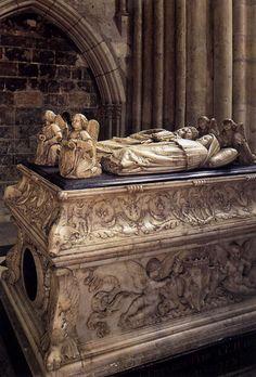 catherine de medici 39 s tomb sculpted effigy by germain pilon in the basilica of saint denis. Black Bedroom Furniture Sets. Home Design Ideas