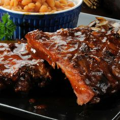 Finger Licking, Sticky, Juicy Ribs Recipe from Grandmother's Kitchen