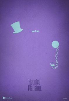 Haunted Mansion 44th birthday poster