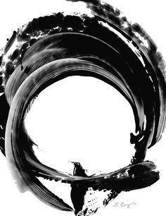 Black Magic 304 By Sharon Cummings Painting  - Black Magic 304 By Sharon Cummings Fine Art Print