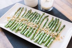 Roasted Asparagus with Lemon Aioli and Walnut Piccata — BE WELL BY KELLY