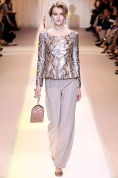 Armani Privé | Fall/Winter 2013 Couture Collection | July 2, 2013 / Paris - Style.com