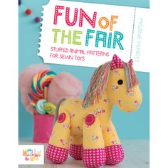Fun of the Fair is a joyful and playful book containing 5 fun and colourful toy designs from Melanie McNeice of Melly & me. These toys are…