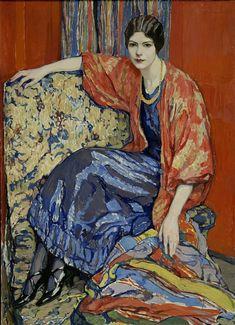 Одна из самых любимых собсвенных работ Елены Киселевой — портрет «Маруся», написанный художницей в 1913 годпор