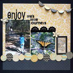 Layout: Enjoy Life's Little Journeys