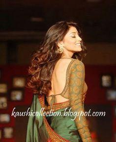 Long sleeve saree blouses