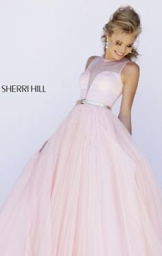 Beaded Ballgown by Sherri Hill 32170