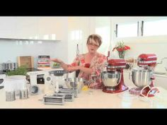 ▶ KitchenAid - Introduction to the Stand Mixer - YouTube