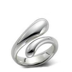 Tiffany & Co Elongated Teardrop Ring