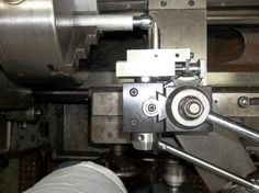 """Ball And Radius Turning Attachment. This one is used on a Clausing 14"""" X 48"""" Lathe."""