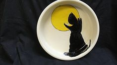 Dog Bowl 8 Dog Bowl for Food or Water Personalized at no Charge Signed by Artist Debby Carman *** Check this awesome product by going to the link at the image.