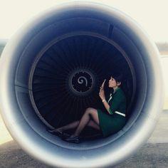 Citilink Indonesia Stewardess (A320 engine) @anisa_prabawanti