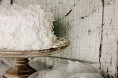 Coconut Cake from @Smith Bites