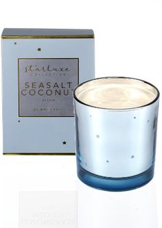 Mrs Darcy Starluxe Seasalt Coconut Candle Candles Online, Scented Candles, Brand Names, Barware, Paradise, Coconut, Tumbler, Heaven