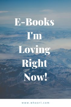 I believe self care is so important as a mother, but it can be hard to find time to actually follow through. Here are some of the e-books I