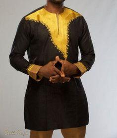 Vêtements africains pour hommes Dashiki africain par AfricaBlooms