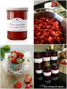 De vous à moi...: Tarte aux fraises et petits fruits rouges, crème à la pistache