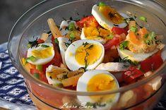 Salata de legume cu oua | Retete culinare cu Laura Sava - Cele mai bune retete pentru intreaga familie