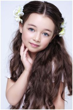 Kết quả hình ảnh cho kids with beautiful brown hair