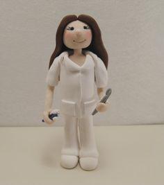 Dental Assistant Professional Figurine by JudithLynnOriginals, $50.00