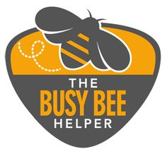 The Busy Bee Helper logo design