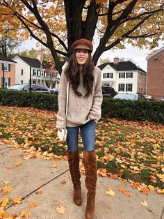 37 Casual and Warm Outfits Accompany You through The Fall outfits , wearing style, autumn outfits, Kleider südlichen Winter Mode Outfits, Winter Outfits Women, Winter Fashion Outfits, Look Fashion, Stylish Outfits, Autumn Winter Fashion, Fall Outfits, Cute Outfits, Womens Fashion