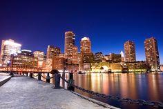 Boston @ Night