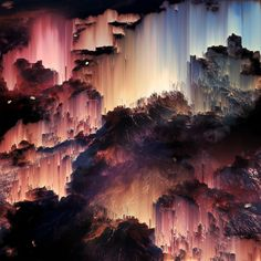 I Create Wonderful Universes Through Digital Distortion   Bored Panda