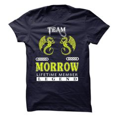 [Hot tshirt name creator] Team MORROW 2015Rim  Best Shirt design  Team MORROW Lifetime Member  Tshirt Guys Lady Hodie  SHARE and Get Discount Today Order now before we SELL OUT  Camping morrow