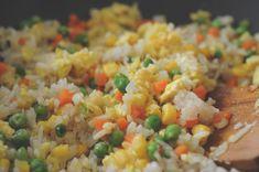 rice12 אורז מטוגן מאורז קר שנשאר במקרר