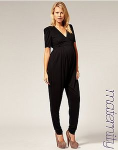 44e8ed46b39 French Connection Maternity Jersey Jumpsuit Exclusive to ASOS