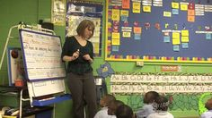Kindergarten morning message, I love the way this teacher makes learning interactive and fun.