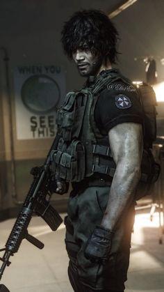 Carlos Resident Evil, Resident Evil 3 Remake, Resident Evil Game, Evil Anime, Jill Valentine, Star Trek Enterprise, Video Game Characters, Punisher, Looks Cool