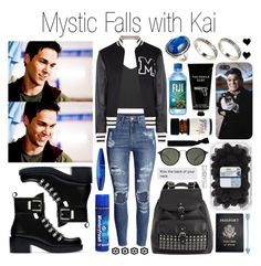 Mystic Falls with Kai Parker by plnzh on Polyvore featuring polyvore, fashion, style, Moschino, H&M, Zara, ASOS, Ray-Ban, Dorothy Perkins, Volum, TokyoMilk, Passport, xO Design and clothing