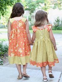 Tutorial: Simple Raglan Sundress for little girls