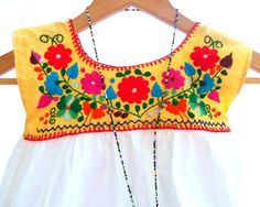 Mexican Hand Embroidery Patterns | Request a custom order and have something made just for you.