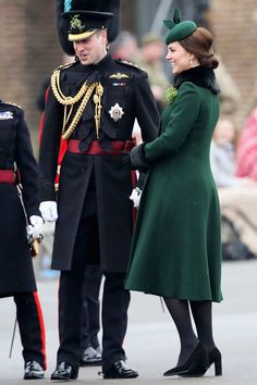 Kate Middleton Wears Green for St. Patrick's Day