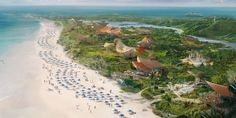 Miles of white sand beaches are just one lure of Lighthouse Point, expected to open on Eleuthera in late 2022 or early Bahamas Island, Island Resort, Hawaii Resorts, Disney Cruise Ships, Ocean Springs, Lawn And Landscape, Beach Road, Filming Locations, White Sand Beach