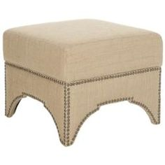@Overstock - Sahara ottoman features a stylish design inspired by combining traditional elements with a modern twist. Ottoman features a removable tufted top with hidden storage.http://www.overstock.com/Home-Garden/Sahara-Beige-Square-Storage-Ottoman/6972003/product.html?CID=214117 $234.19
