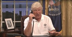 Watch Alec Baldwin's Donald Trump Bring Chaos to 'SNL' Premiere      'Saturday Night Live' returned for Season 43 with a cold open sketch that saw Alec Baldwin's Donald Trump eagerly creating chaos. http://www.rollingstone.com/tv/news/watch-alec-baldwins-donald-trump-bring-chaos-to-snl-w506420?utm_campaign=crowdfire&utm_content=crowdfire&utm_medium=social&utm_source=pinterest