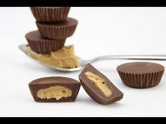 Peanut Butter Cups selber machen (Erdnussbutter Pralinen)