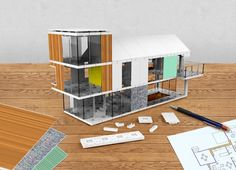 2 | A Slick Architectural Model Kit With Infinite Components | Co.Design | business + design