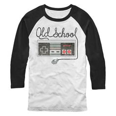 #Nintendo Men's - Old Schoool NES Controller T-Shirt #gaming #gamer