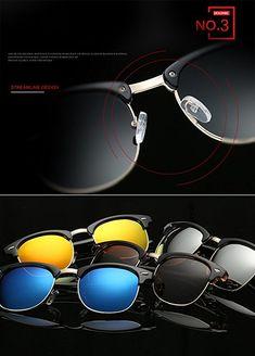 5ad160948b7b Amazon.com  Joopin Semi Rimless Polarized Sunglasses Women Men Retro Brand  Sun Glasses (