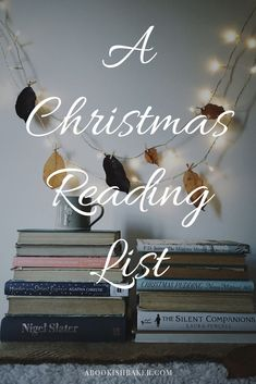 My Christmas Reading List — A Bookish Baker : A Christmas Reading List. A selection of cosy books to read by the fire this Christmas and winter time. Book Club Books, Book Nerd, Good Books, Books To Read, Book Series, Best Christmas Books, Cosy Christmas, Book Suggestions, Book Recommendations